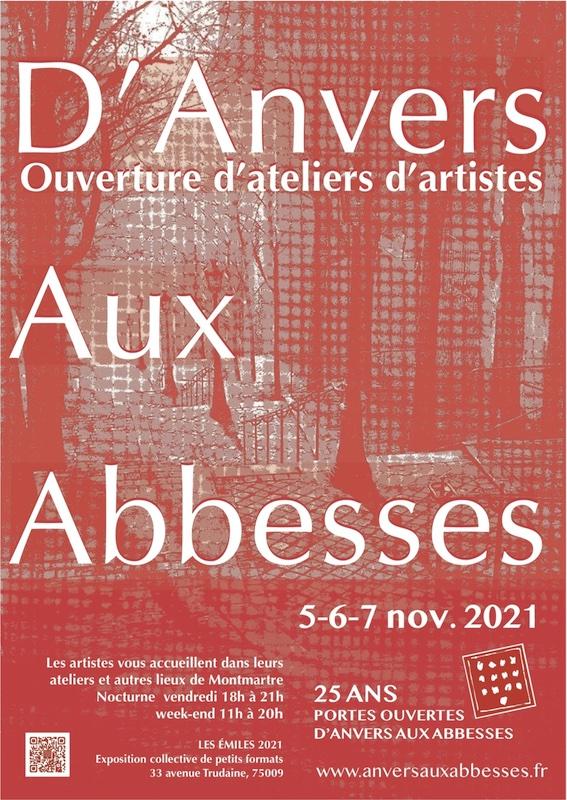93 artistes plasticiens ouvrent leurs portes à Montmartre du 5 au 7 novembre 2021
