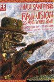 25 ans d'art brut avec la revue Raw Vision, à la Halle Saint-Pierre, Paris, de septembre 2013 à août 2014, par Jacqueline Aimar