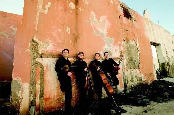 Quatuor Debussy © B. Benant