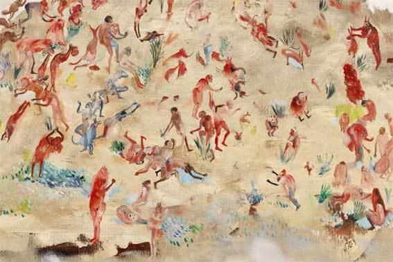 Hélène Duclos, L'envers des mondes  Peintures et gravures, Galerie Le Réalgar, St-Etienne, du 9 Novembre au 13 Décembre 2013
