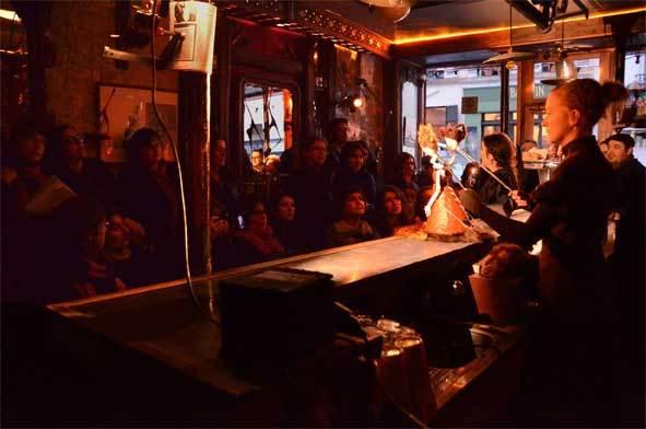 Freaks. Marionnettes de comptoir, Cie Les Rémouleurs. A Mérindol, Cavaillon, Joucas et à la Gare de Coustellet, du 7 au 10 novembre
