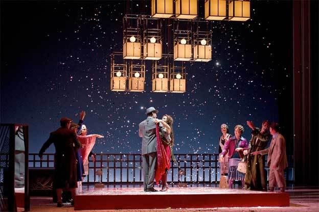 Placido Domingo dirige Menotti à l'Opéra de Monte-Carlo, par Christian Colombeau
