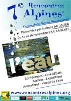 7e Rencontres Alpines, du 12 au 26 novembre 2013 à Sallanches