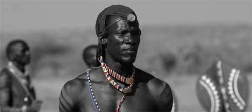 Anuang'A, danseur Massaï