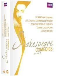 Cinq comédies de Shakespeare en DVD aux Editions Montparnasse, présenté par Christian Colombeau