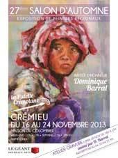 27e salon d'automne de Crémieu (38) du 16 au 24 novembre 2013