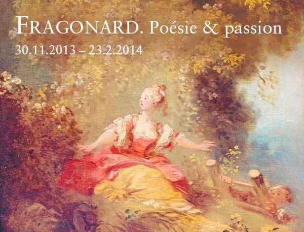 Le TGV invite à une rencontre culturelle avec le grand maître de la peinture : «  Fragonard, Poésie et Passion » au Staatliche Kunsthalle Karlsruhe, du 30 novembre 2013 au 23 février 2014
