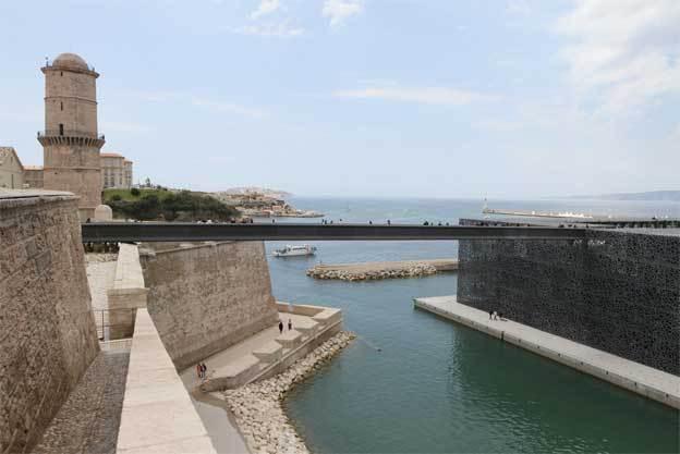 Mucem et fort Saint-Jean © Agnès Mellon
