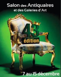 43ème édition du Salon des Antiquaires et des Galeries d'Art de Nîmes au Parc Expo, du 7 au 15 décembre 2013