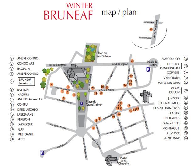 Winter Bruneaf 2014, Bruxelles, du mercredi 22 au dimanche 26 janvier 2014