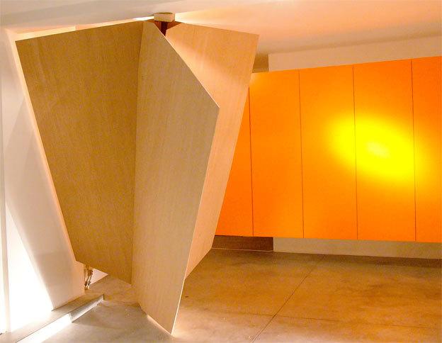 Julien Mijangos, Formes déduites autour d'un axe, 2012