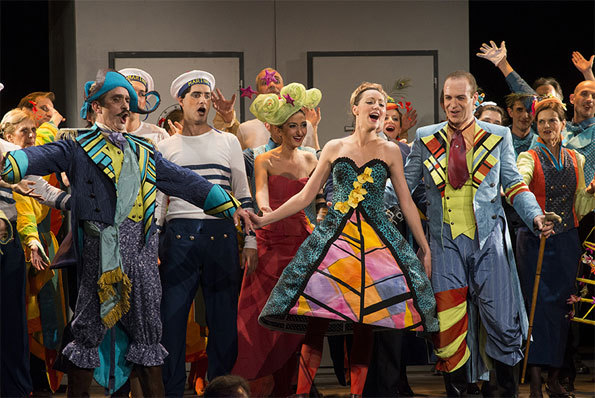 La Créole, opéra-comique de Jacques Offenbach © DR