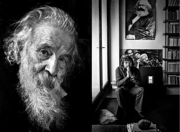 Gaston Bachelard, Roger Planchon © Rajak Ohanian