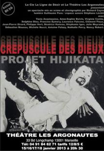 Crépuscule des Dieux / Projet Hijikata, danse-butô, Théâtre Les Argonautes, Marseille, 15 au 18 janvier 2014