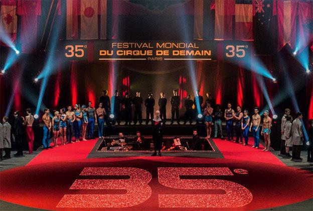 35e Festival Mondial du Cirque de Demain, 23-24-25 et 26 janvier 2014 sous le chapiteau du cirque Phénix Pelouse de Reuilly  (75)