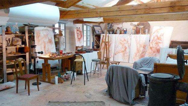 Atelier de l'artiste - Sorèze