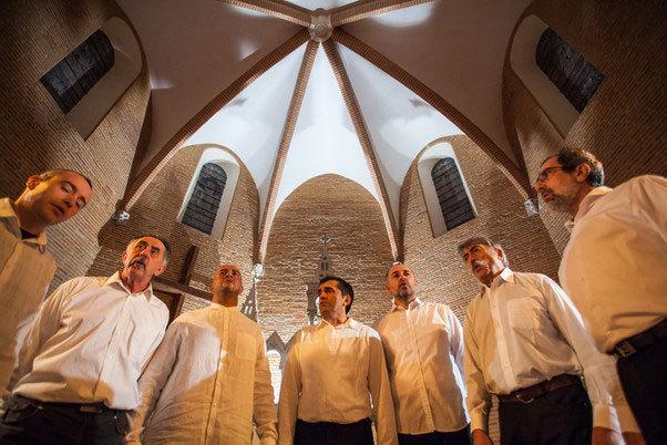 Set de Cant, musique vocale occitane, 31 janvier 2014 à Nyons dans le cadre de l'Alicoque, fête de l'huile nouvelle