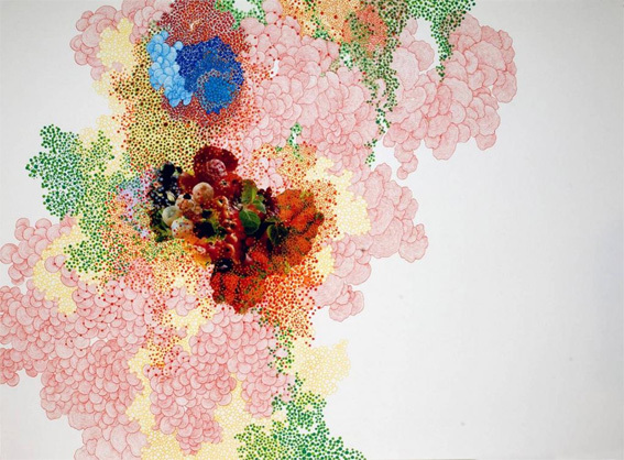 Tiffany Chung, Collage on paper, 79 x 109 cm © Tiffany Chung