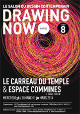 Drawing Now Paris, le salon du dessin contemporain, du 26 au 30 mars 2014