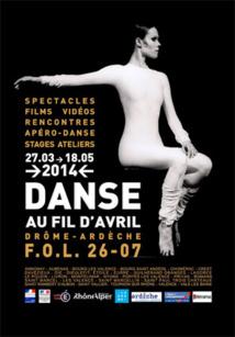 « Danse au Fil d'Avril » du 26 mars au 18 mai en Ardèche et en Drôme