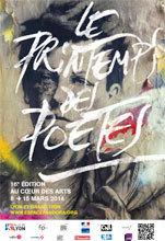 16e Printemps des Poètes à Lyon et Grand Lyon du 8 au 15 mars 2014