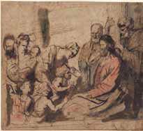 Antoon Van Dyck (1599-1641) Laissez venir à moi les petits enfants © Musée d'Angers