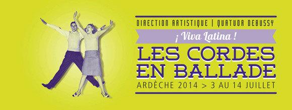 "Avant-programme du Festival Cordes en ballade 2014 dont le thème est : ""¡ Viva España !"""