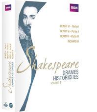 Henri VI et Richard III où l'histoire anglaise comme si vous y étiez. Deux drames historiques de Shakespeare en dvd aux Editions Montparnasse. Par Christian Colombeau