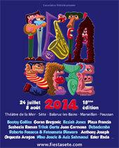 Fiest'A Sète 2014, le programme