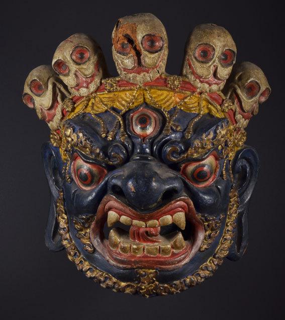 Les masques entre miniature et démesure, exposition au Musée de la miniature / Musée de la Ville de Montélimar, du 11 avril au 7 septembre 2014