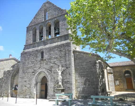 Eglise d'Ailhon © Pierre Aimar