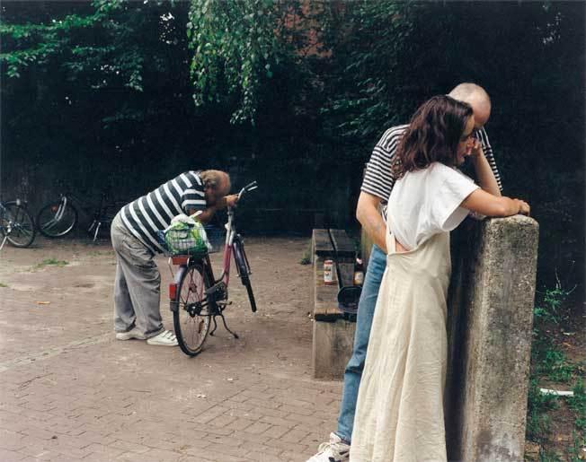 Im Park Oslebshausen, Brême, 1997  Tirage à développement chromogème  84 x 107 cm avec cadre © Patrick Faigenbaum