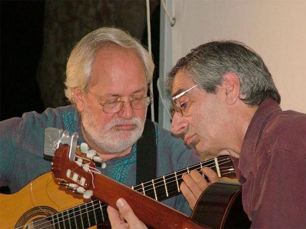 Jorge Cardoso et Juan Falú © DR