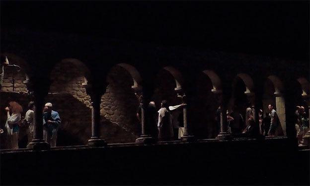 L'atmosphère envoutante du cloître de St-Michel de Cuxa © Pierre Aimar