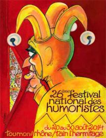 Carré d'as : Anne Roumanoff, Régis Mailhot, Vincent Roca, Demaison au Festival national des Humoristes de Tournon (07), du 20 au 30 août 2014. Par Pierre Aimar