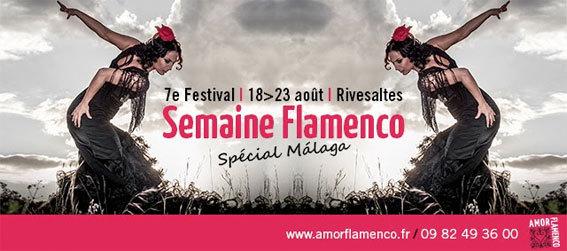7e Festival Semaine Flamenco du 18 au 23 août 2014 à Rivesaltes
