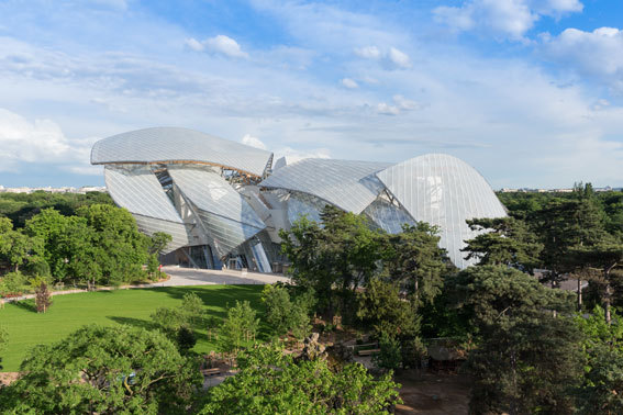 Fondation Louis Vuitton @ Iwan Baan, 2014