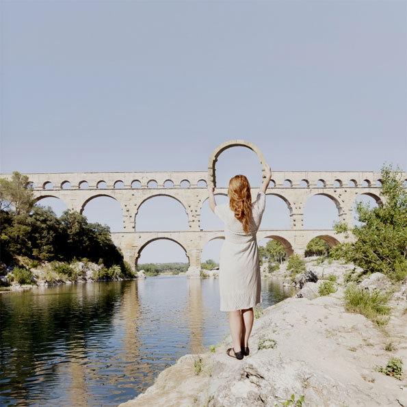 Bercy Village et Atout France présentent l'exposition : ImagineFrance, le fantastique voyage  de la photographe Maia Flore du 13 juin à mi-septembre 2014