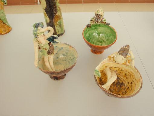 Exposition Jean-Nicolas Gérard et ses invités, Maison de la céramique, Dieulefit, du 19 juillet au 28 septembre 2014