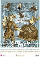 Rameau et son temps. Harmonie et Lumières. Du 20 septembre 2014 au 3 janvier 2015 à la Bibliothèque municipale de Versailles
