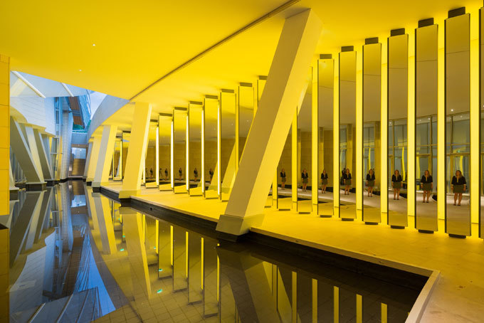 Olafur Eliasson - Inside the horizon  © 2014 Olafur Eliasson © Iwan Baan