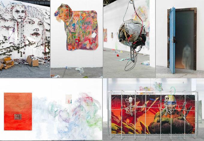 Doom : Surface Contrôle, dans la « Rue » du Magasin, Grenoble, du 11 octobre 2014 au 4 janvier 2015