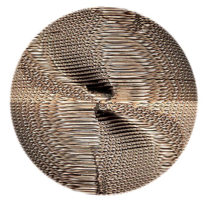 Anémosphère / Génèse - Sculpture - 25 x 25 cm, éd. 1/5 ex.