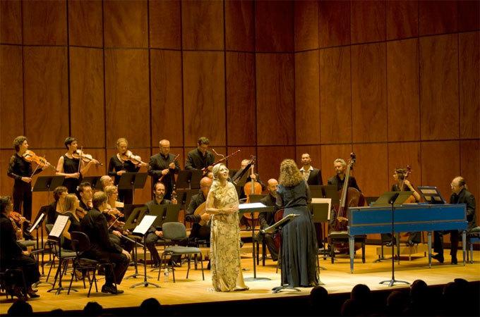 Nathalie Dessay, Emmanuelle Haïm © Opéra de Monte-Carlo, novembre 2014