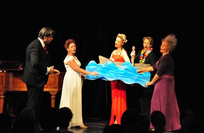 « Ça me fait penser… », par la troupe OpéraBulles, au Théâtre de l'Ange, Avignon, les 6 et 7 décembre 2014