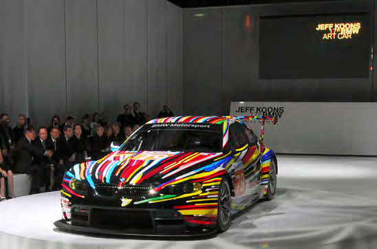 BMW by Jeff Koons