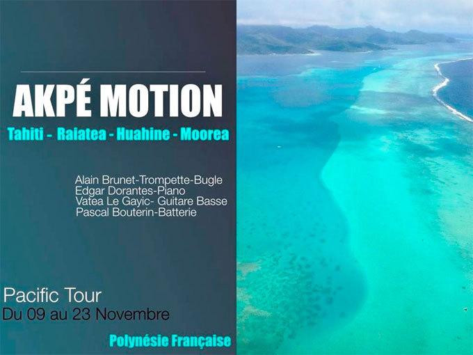 Alain Brunet et Akpé Motion, carnet de voyage n° 7 - la Polynésie française, novembre 2014