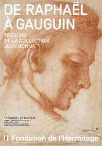 De Raphaël à Gauguin. Trésors de la collection Jean Bonna, Fondation de l'Hermitage, Lausanne, du 6 février au 25 mai 2015