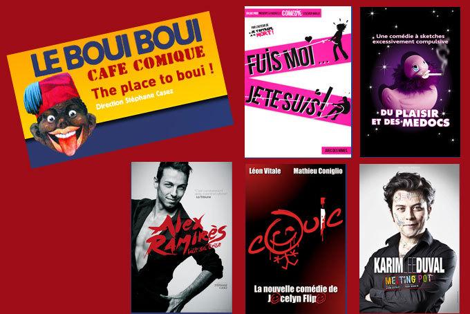 Jour de l'an au Boui-Boui, Lyon, 5 spectacles pour rire le 31 décembre 2014