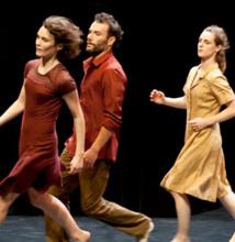 Christian et François Ben Aïm, La légèreté des tempêtes, Théâtre La Garance, Cavaillon, 9 décembre 2014